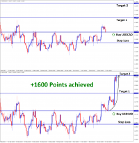 1600 ponts achieved in T2 USDCAD