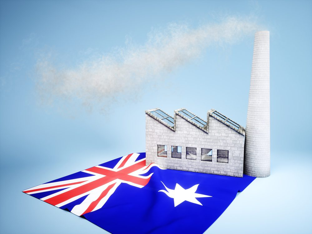 Australian manufacturing index fell to 58.4 from 60.4