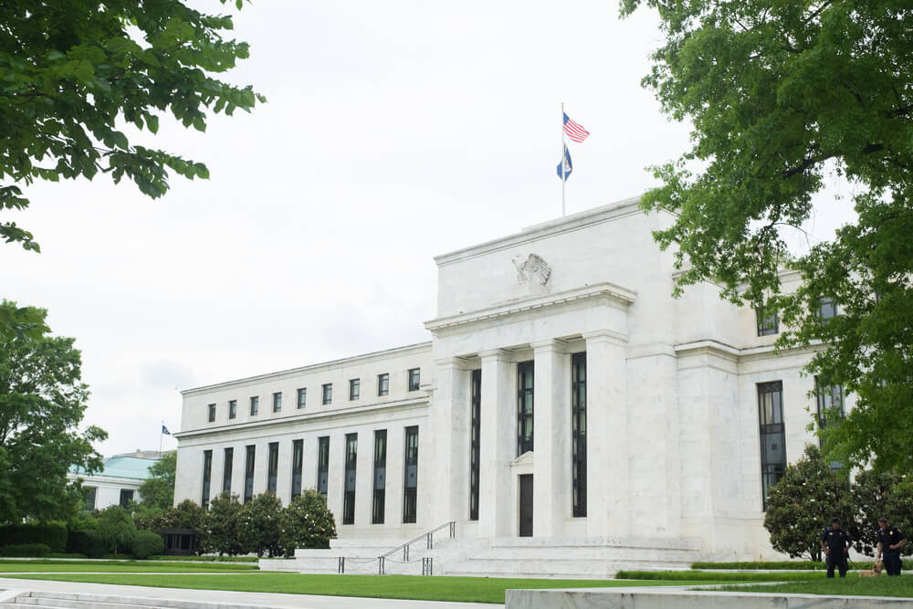 FED Federal Reserve Building in Washington DC