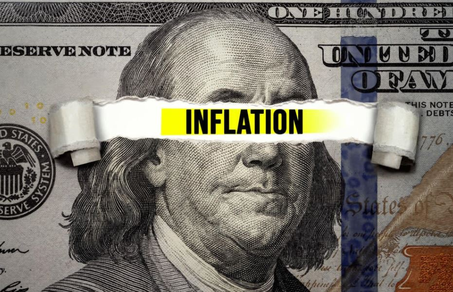 FED uses the Term Transitory type of inflation numbers printed in the latest month is not a consideration for stable numbers min
