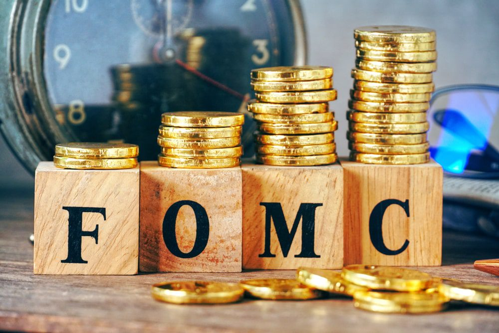 FOMC meeting there will be a discussion on current monthly purchase min
