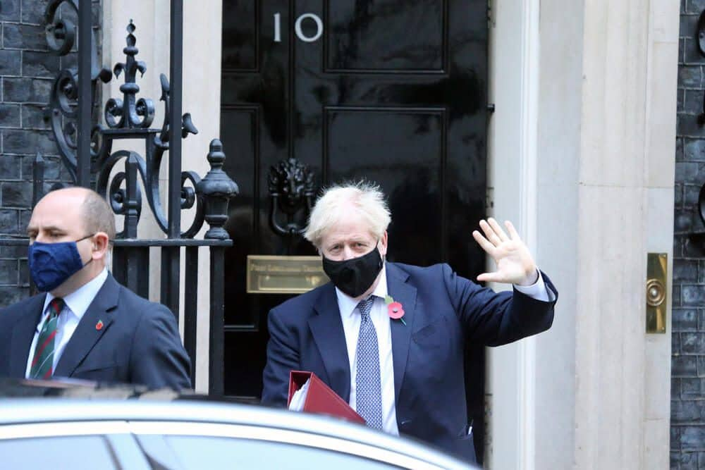 UK PM Boris Johnson. Due to the increasing virus of Delta Indian Variant of Covid 19 still more people to injected by July end.
