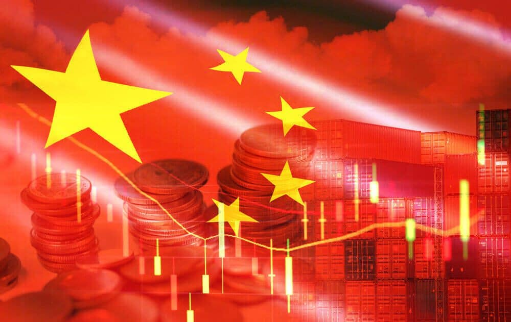 Chinese Trade balance came at 51.53 Billion Versus 44.2Billion