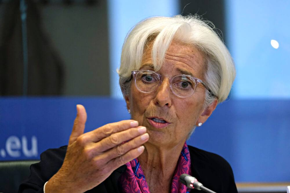 ECB President Lagarde said there is no rush to hike rates and Tapering assets
