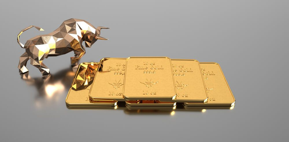 Gold prices remain on the top side as US Dollar fell about 1 last day