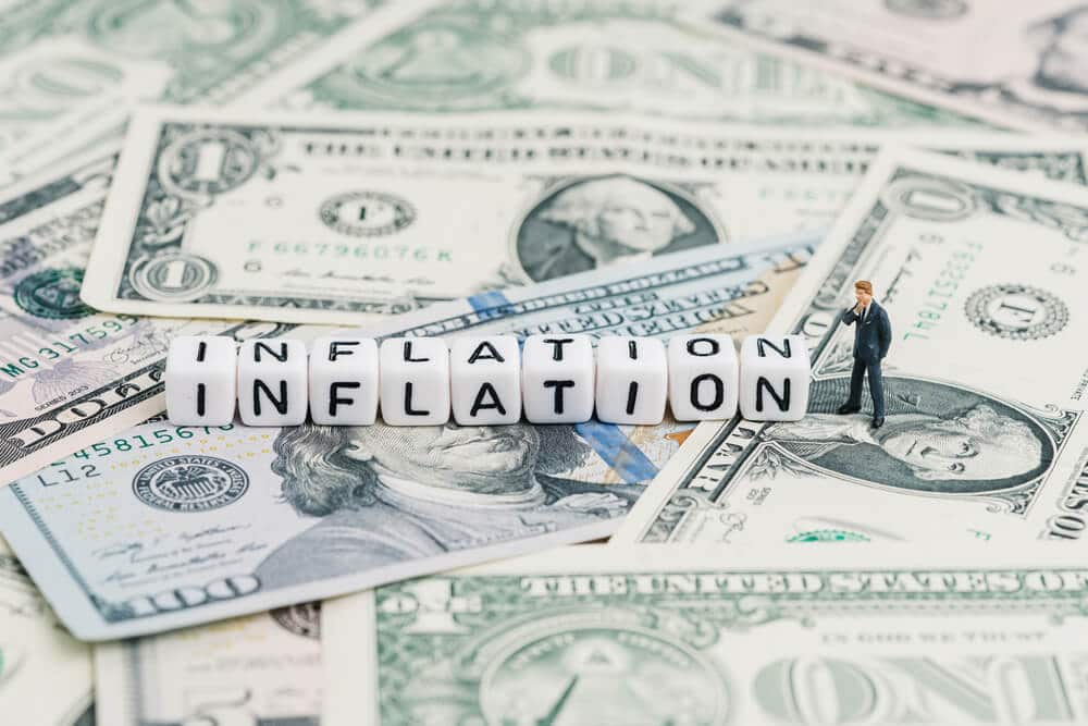 Inflation Data rise to a higher number this gives the way for tapering assets by FED