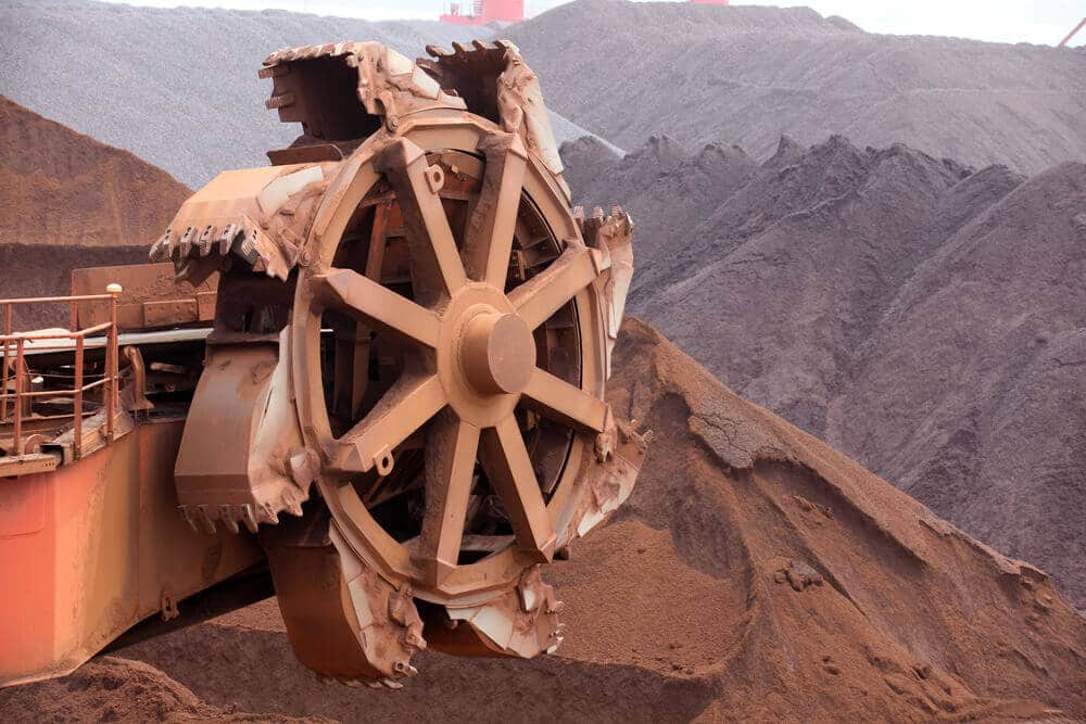 Iron ore is the Product only high consumable by China