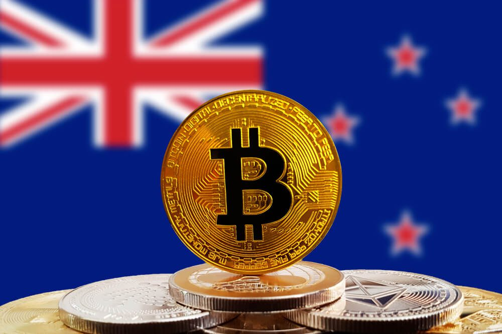 New Zealand conversion of normal hand cash to electronic paying digital assets