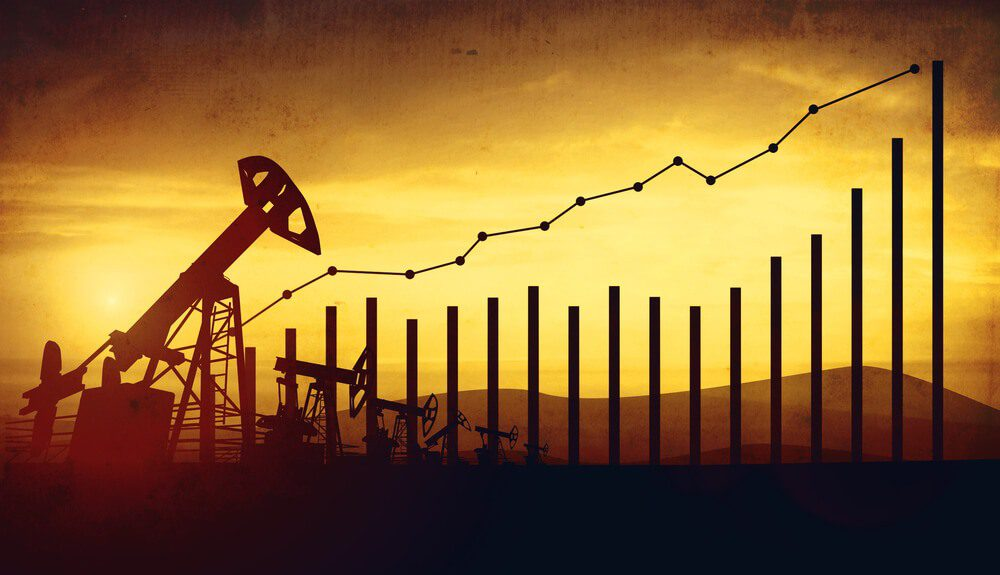 Oil prices show stronger robust growth