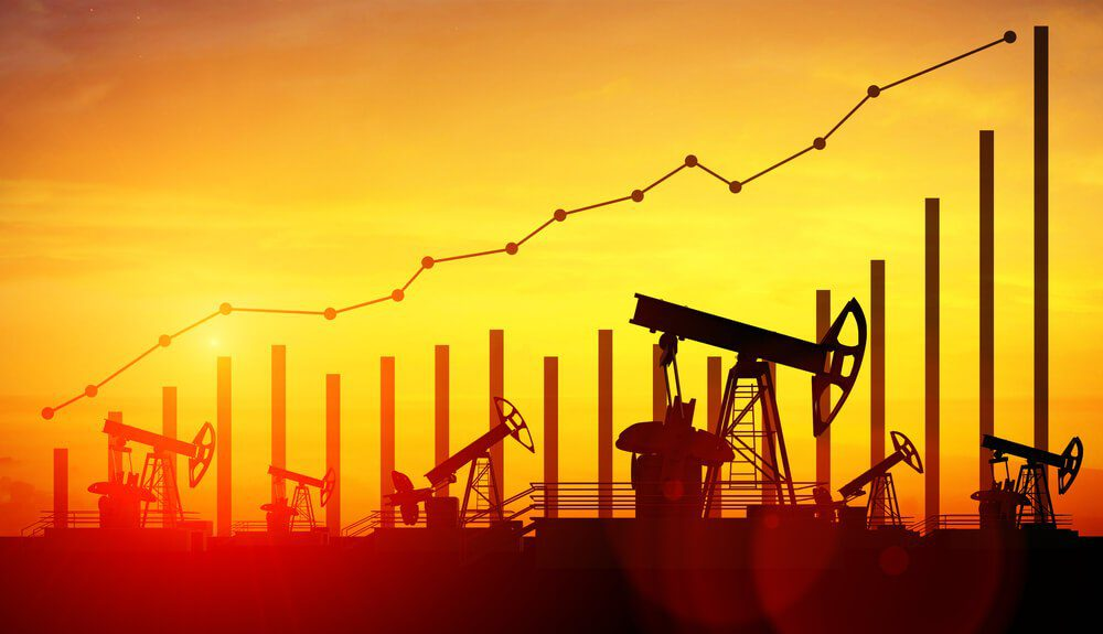 Oil prices surge as US Dollar weakness last day