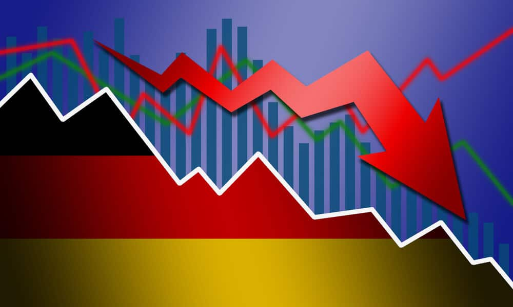 German ZEW economic sentiment dropped to 40.4 in August
