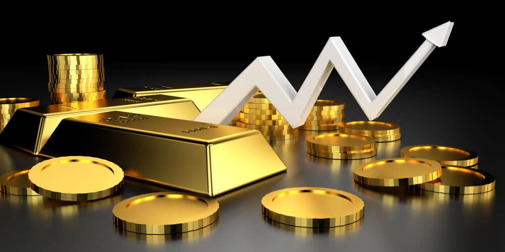 Gold Prices are rallied in the last 2 days of Last week as correction phases
