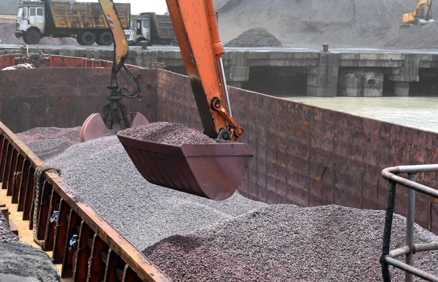Iron ore prices dropped 10 from the last 2 months