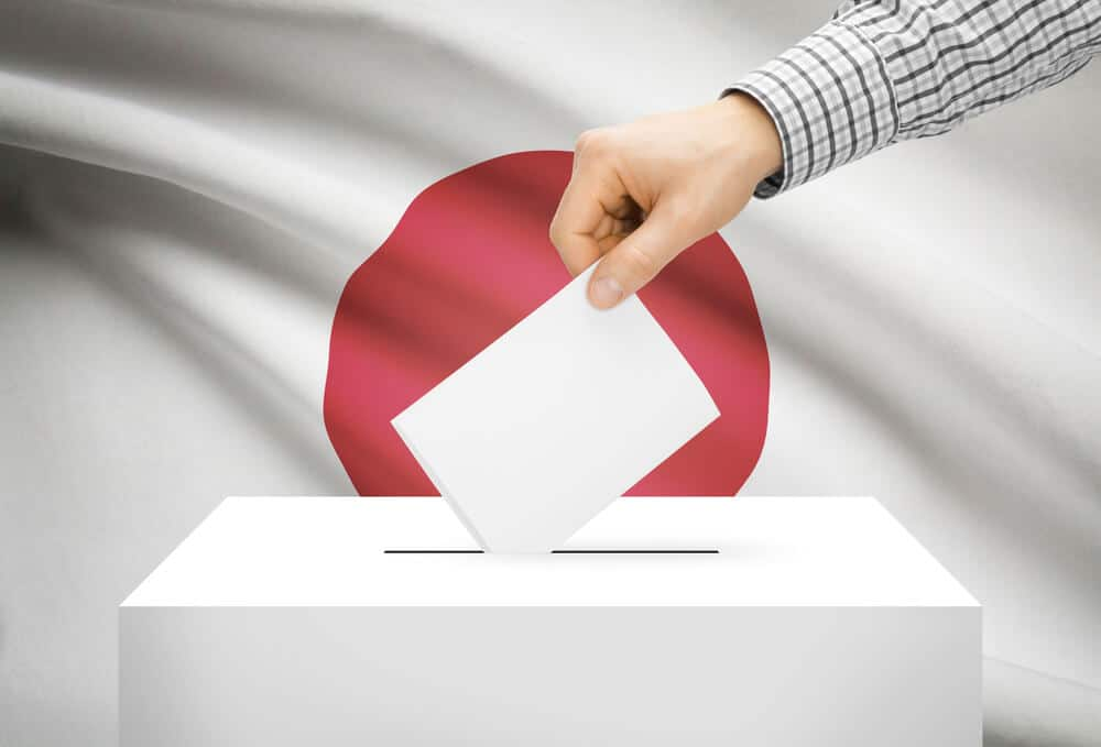 Japan General elections are scheduled in Japan in October month