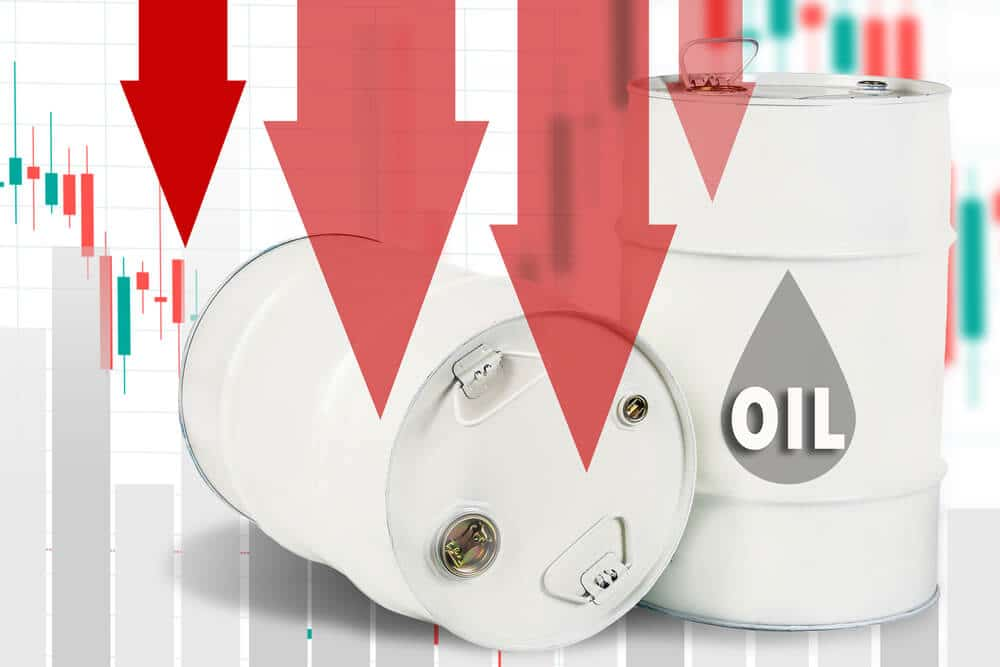 Oil Prices declines lower by the impact of China low consumption