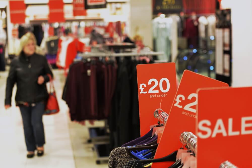 UK Retail sales came at a lower level than expected