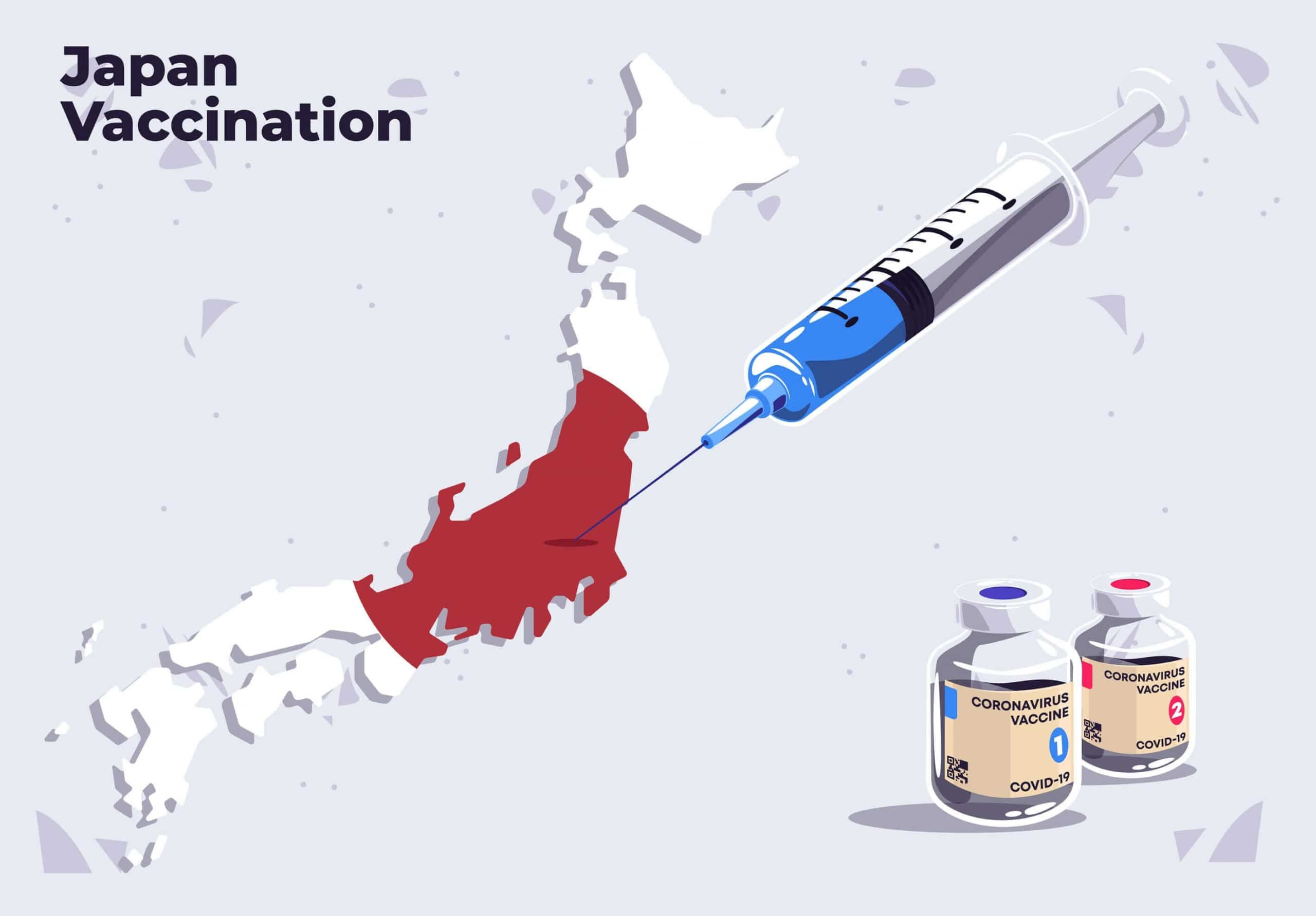 Vaccinations side will be more concentrated by Japanese Government
