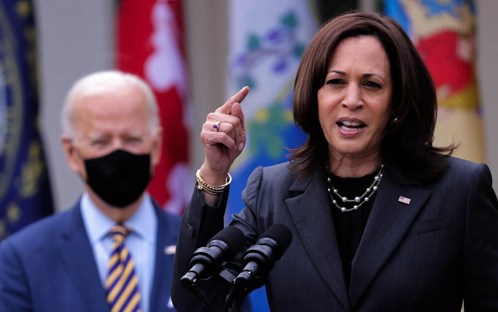 Vice President Kamala Harris said that China is interfering more in South China sea matters