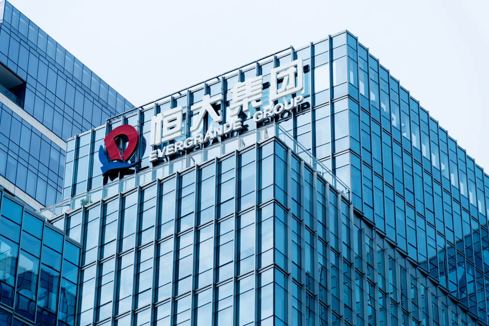China now has trouble with the Real estate crisis with Evergrande Company defaults of 300 Billion.