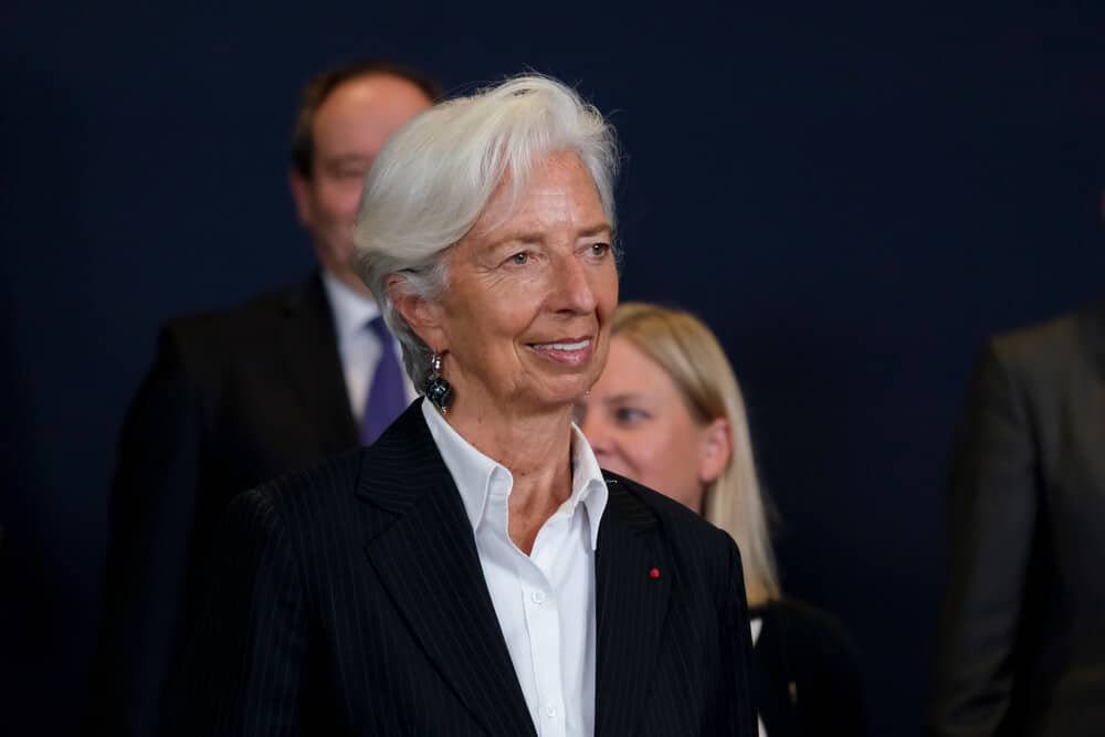 ECB President Lagarde speech happened this week more monetary policy settings adjustments will take place as expected.