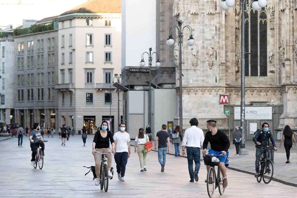 Eurozone lockdown decreased much more