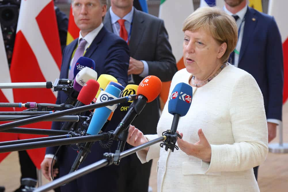 German Election results are much waiting in Eurozone if current Chancellor party of Christian Democratic union will win majority means then Euro gets a stronger view