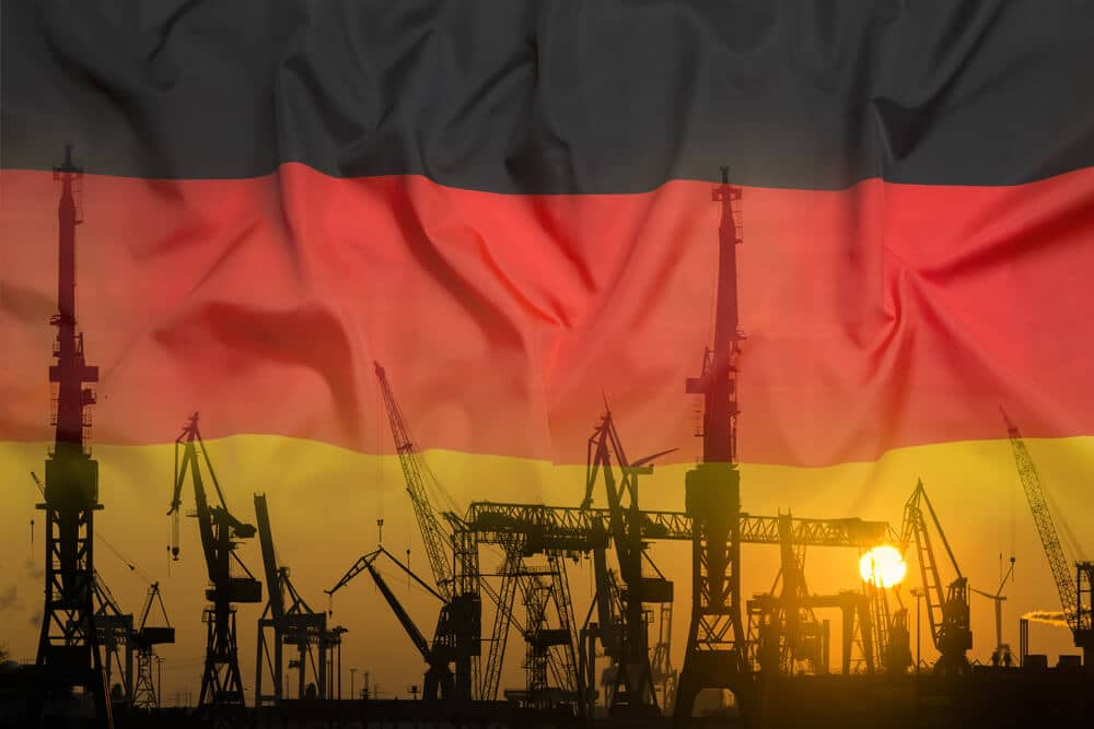 German economy index like Manufacturing and industrial production data came to lower than previous data.