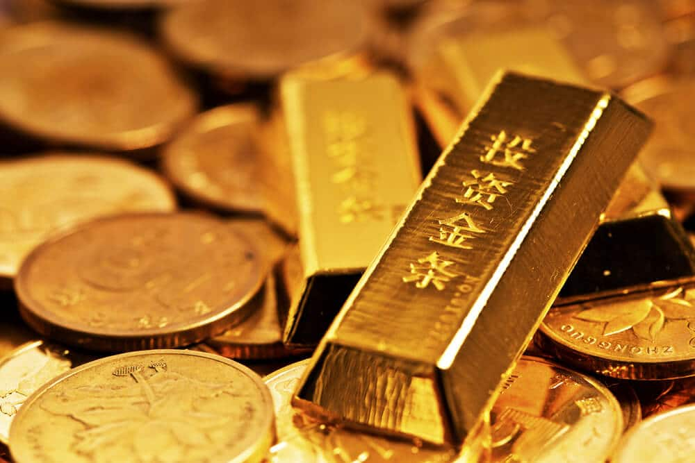 Gold prices ticked lower as China facing a real estate crisis from Real estate giant Evergrande facing a Default of 300 billion.