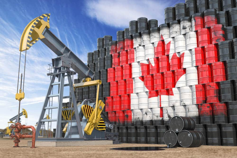 So here Oil Prices determines the Canadian Dollar prices and proportionally rising prices of CAD in the market
