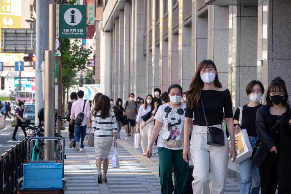 Vaccination progress slower in Japan made lower economy in Japan