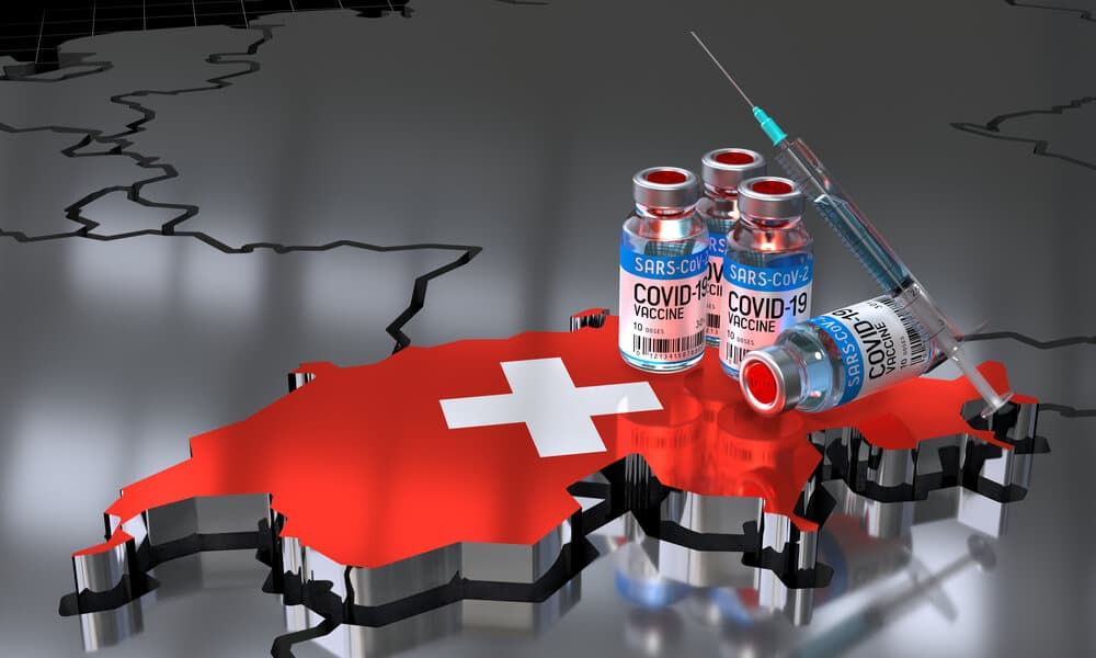 Vaccinations are progressing slowly and Domestic data showed poor performance in Swiss