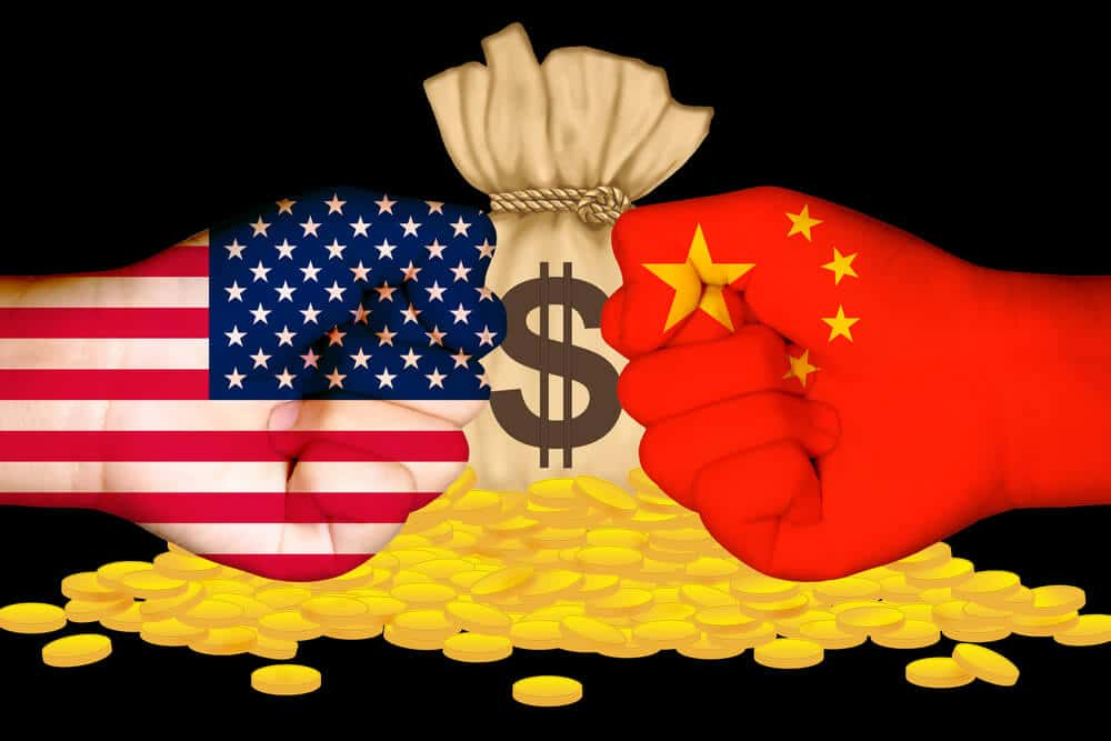 US and China faces tough pressure to come back from pandemic results in support for Gold.