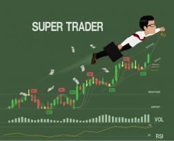 super clever trader in forex market