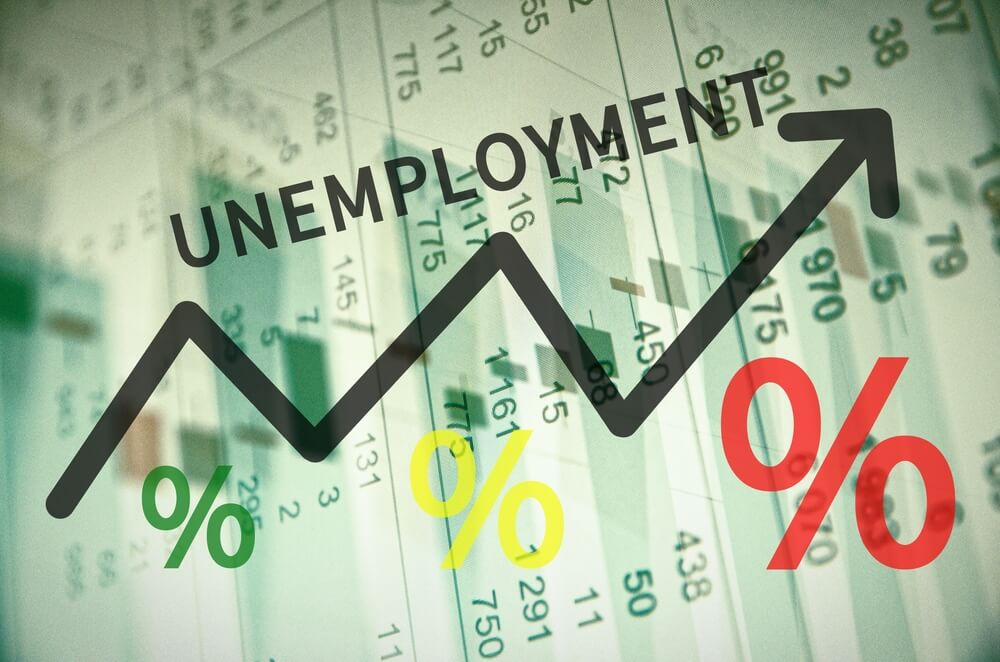 But Unemployment rate came in better numbers like 4.8 from 5.1 expected.