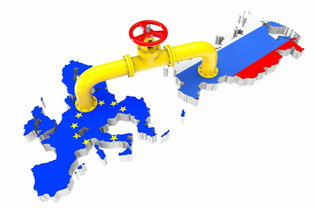 Russia lend a helping hand by providing Sufficient Energy supplies to the Europe zone 1