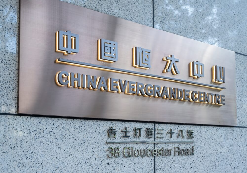 Swiss China Evergrande crisis makes investors safe park funds to Swiss Franc as SNB bank.