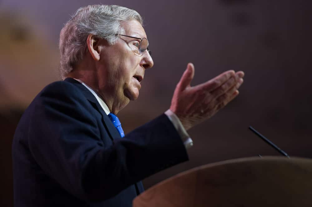 Yesterday Republican party senate leader Mitchell McConnell said our party supported